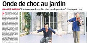 """La presse sur """"Il se trouve (...) / prélude"""""""