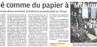 "La presse sur ""Fantôme, (...)""The press about ""Ghost, (...)"""